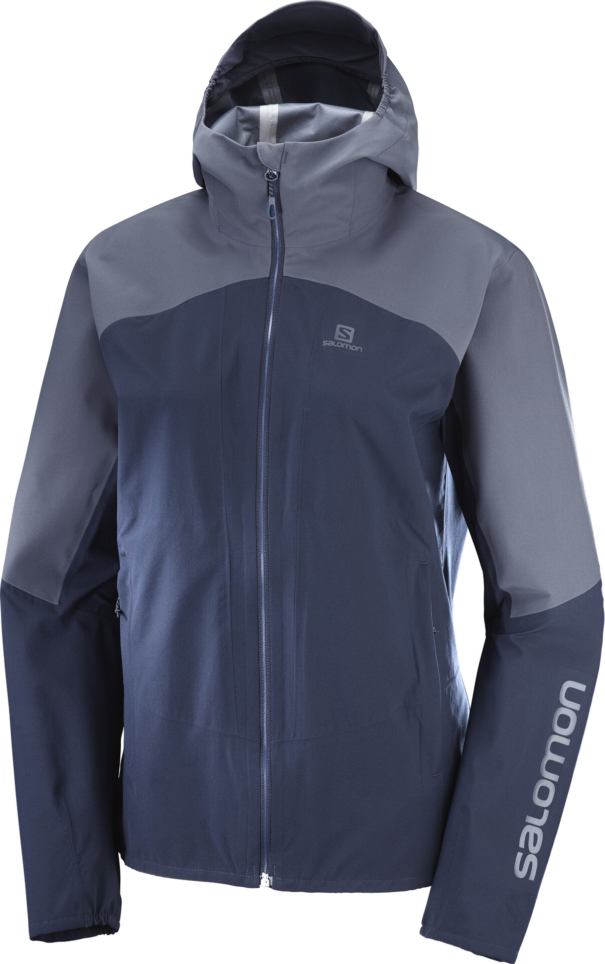 Salomon Outline Jacket Damen night skygraphite